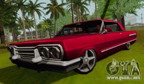 Savanna Coupe para GTA San Andreas
