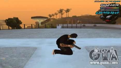 C-HUD by ShnoorOK para GTA San Andreas tercera pantalla