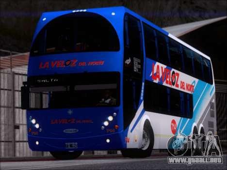 Metalsur Starbus DP 1 6x2 - La Veloz del Norte para GTA San Andreas left