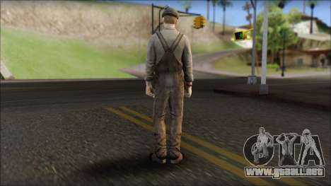 Male Civilian Worker para GTA San Andreas segunda pantalla