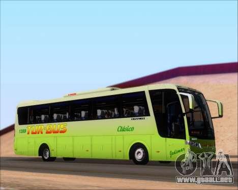 Busscar Vissta LO Scania K310 - Tur Bus para vista lateral GTA San Andreas
