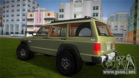 Jeep Cherokee v1.0 BETA para GTA Vice City left