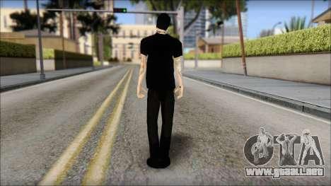 Billy from Good Charlotte para GTA San Andreas segunda pantalla