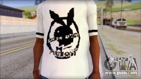 T-Shirt PlayBoy para GTA San Andreas tercera pantalla
