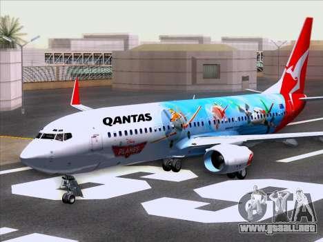 Boeing 737-800 Qantas para GTA San Andreas left