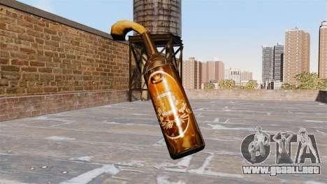 El Cóctel Molotov-Cerveza Vector- para GTA 4 segundos de pantalla