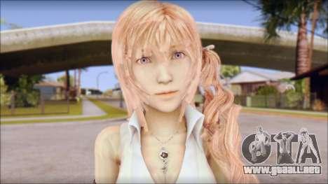Final Fantasy XIII - Lightning Casual para GTA San Andreas tercera pantalla