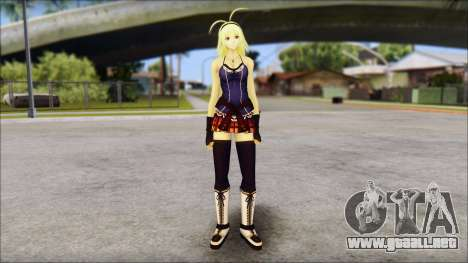 Clousen from Ikkitousen para GTA San Andreas