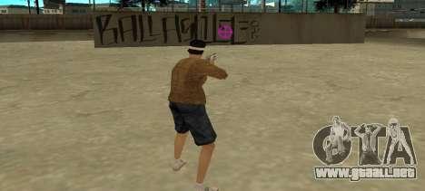 De nuevo la vista para GTA San Andreas segunda pantalla