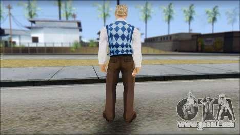 Derby from Bully Scholarship Edition para GTA San Andreas tercera pantalla
