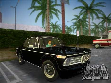 BMW 2002 Tii (E10) 1973 para GTA Vice City