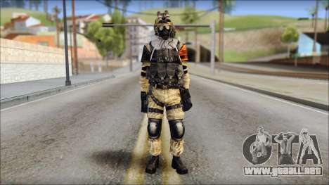 Opfor PVP from Soldier Front 2 para GTA San Andreas