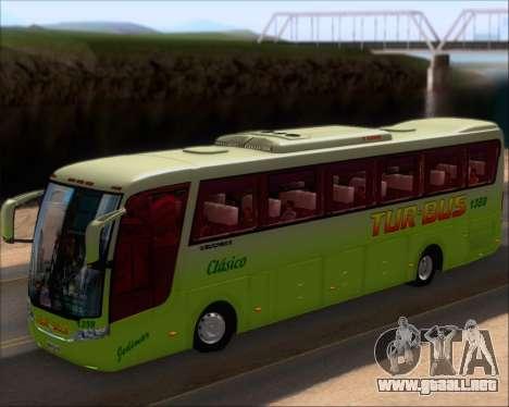 Busscar Vissta LO Scania K310 - Tur Bus para visión interna GTA San Andreas