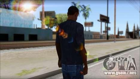 Gucci T-Shirt para GTA San Andreas segunda pantalla