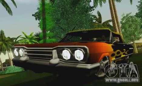 Savanna Coupe para la visión correcta GTA San Andreas