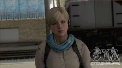 Sherry Birkin Asia from Resident Evil 6 para GTA San Andreas tercera pantalla