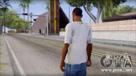 JDM Keep Calm T-Shirt para GTA San Andreas segunda pantalla
