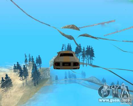 Surf and Fly para GTA San Andreas segunda pantalla