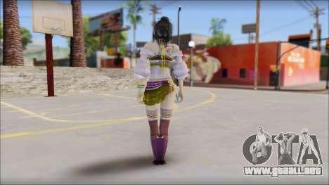 Lebreau From Final Fantasy para GTA San Andreas segunda pantalla
