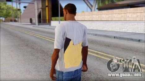 T-Shirt Hands para GTA San Andreas segunda pantalla