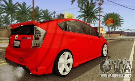 Toyota Prius Tunable para visión interna GTA San Andreas