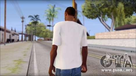 Free Bird T-Shirt para GTA San Andreas segunda pantalla
