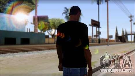Diablo T-Shirt para GTA San Andreas segunda pantalla