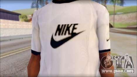 Nike Shirt para GTA San Andreas tercera pantalla