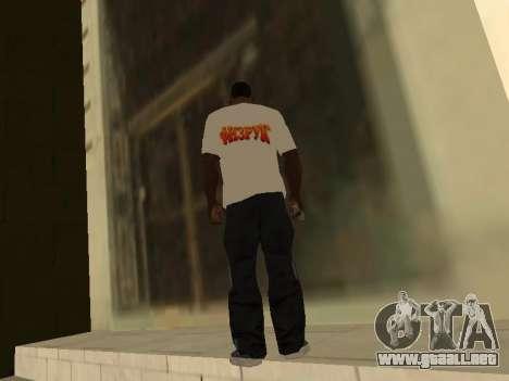 T-Shirt Maestro para GTA San Andreas segunda pantalla