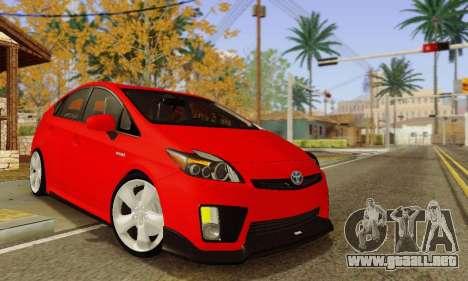 Toyota Prius Tunable para GTA San Andreas