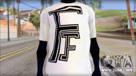 Fabri Fibra T-Shirt para GTA San Andreas tercera pantalla