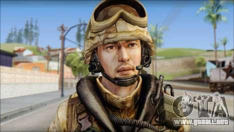 Desert UDT-SEAL ROK MC from Soldier Front 2 para GTA San Andreas tercera pantalla
