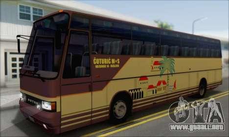 Setra S215 HD para la visión correcta GTA San Andreas