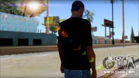 Black Sabbath T-Shirt v1 para GTA San Andreas segunda pantalla