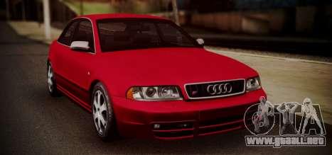 Audi S4 Stock 2000 para GTA San Andreas left