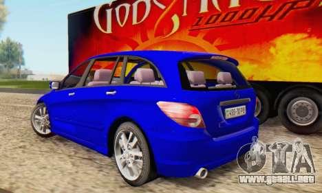 Mercedes-Benz R350 para GTA San Andreas left