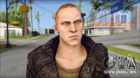 Jake Muller from Resident Evil 6 para GTA San Andreas tercera pantalla