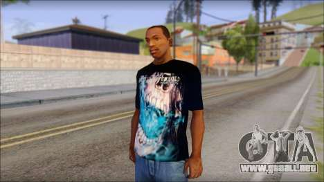 Avenged Sevenfold Nightmare Fan T-Shirt para GTA San Andreas
