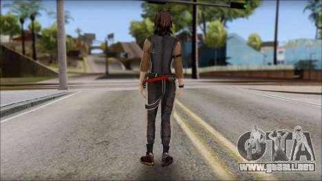 Rebecca para GTA San Andreas segunda pantalla