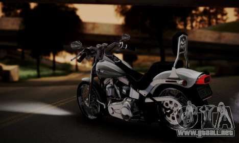 Harley-Davidson FXSTS Springer Softail para GTA San Andreas left
