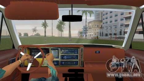 Jeep Cherokee v1.0 BETA para GTA Vice City vista lateral izquierdo