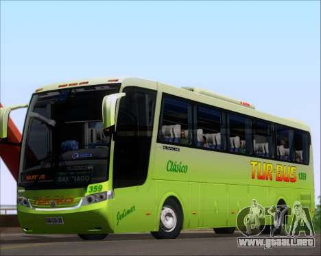 Busscar Vissta LO Scania K310 - Tur Bus para GTA San Andreas left
