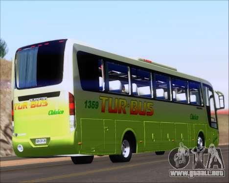 Busscar Vissta LO Scania K310 - Tur Bus para la visión correcta GTA San Andreas