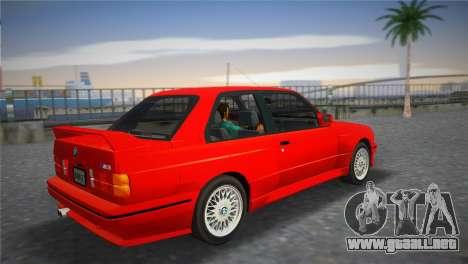 BMW M3 (E30) 1987 para GTA Vice City left