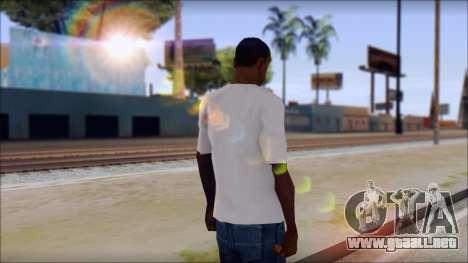 Axl Rose T-Shirt Mod para GTA San Andreas segunda pantalla