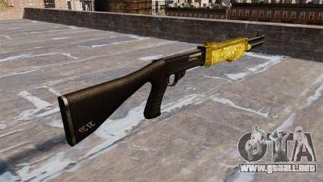 Pistola de Franchi SPAS-12 de Oro para GTA 4 segundos de pantalla