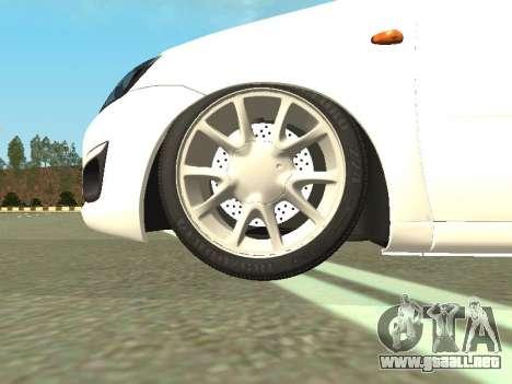 Lada Kalina 2 para visión interna GTA San Andreas