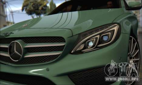 Mercedes-Benz C250 V1.0 2014 para GTA San Andreas left