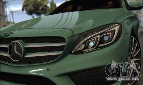 Mercedes-Benz C250 V1.0 2014 para GTA San Andreas left