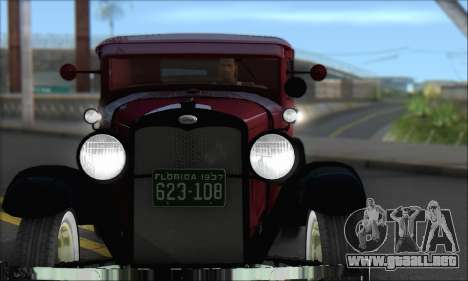 Ford A 1930 para GTA San Andreas left